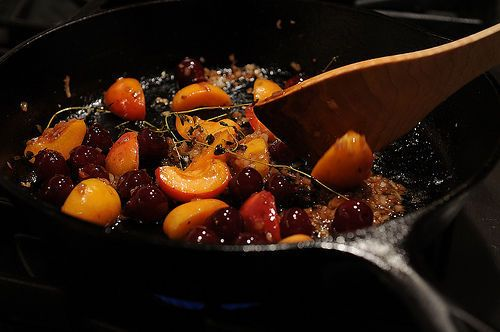 Roasted Duck Breast with Sour Cherries