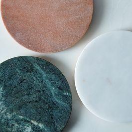 Marble & Metal Trivet