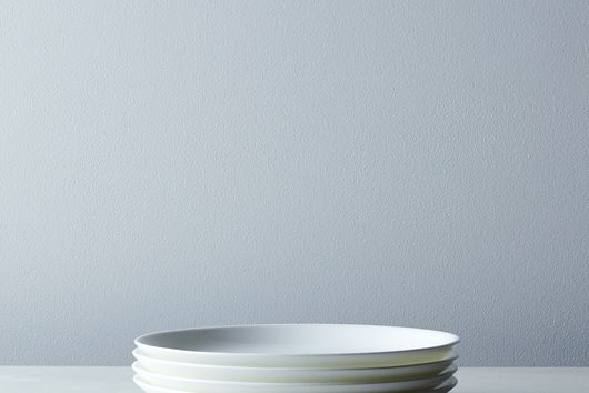 Purio White Salad Plates (Set of 4)