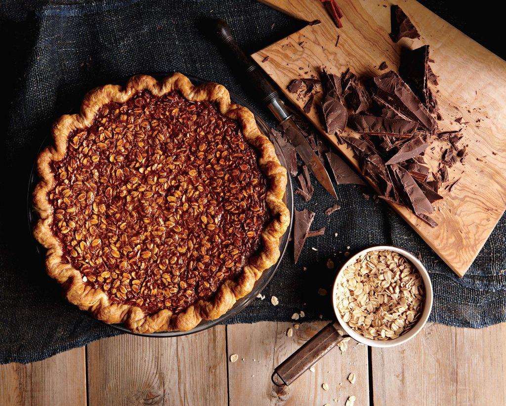 Black Bottom Oatmeal Pie on Food52