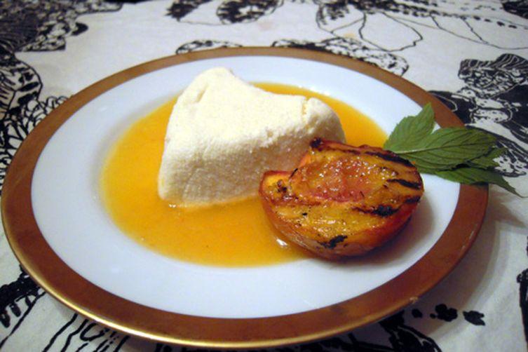 Limoncello Coeur à la Crème with Peach Rosé Sauce (inspired by Sunchowder)