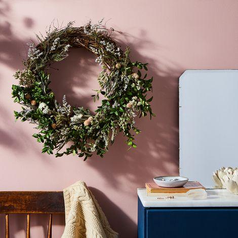 Spring Amaranth Wreath