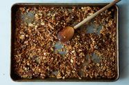 How to Add Dried Fruit to Granola Before Baking