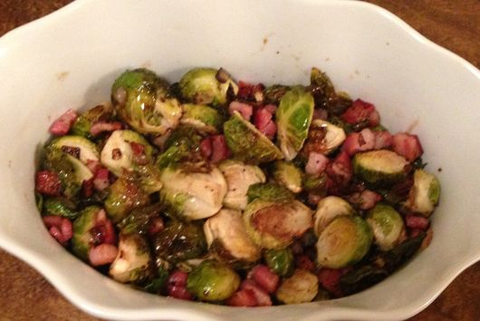 Sweet & Savory Brussels Sprouts