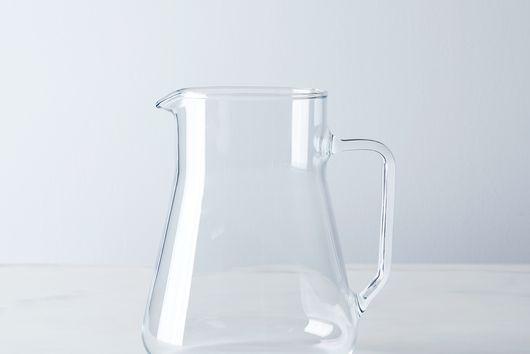 Flame-Proof Borosilicate Glass Small Pitcher