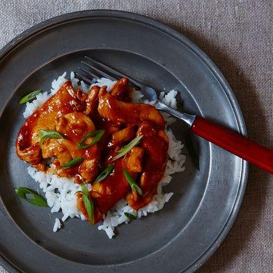 Spicy Orange-Ginger Chicken