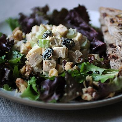Curried Smoked Turkey Salad