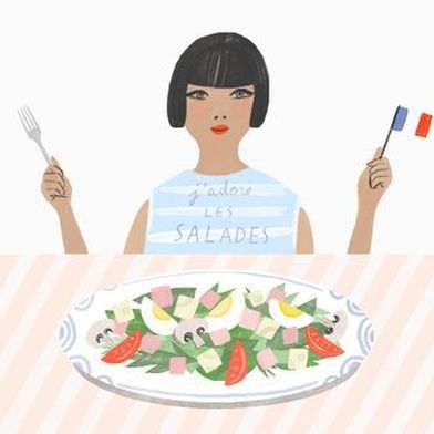 Don't Cut Lettuce With a Table Knife, and Other French Salad-Eating Rules