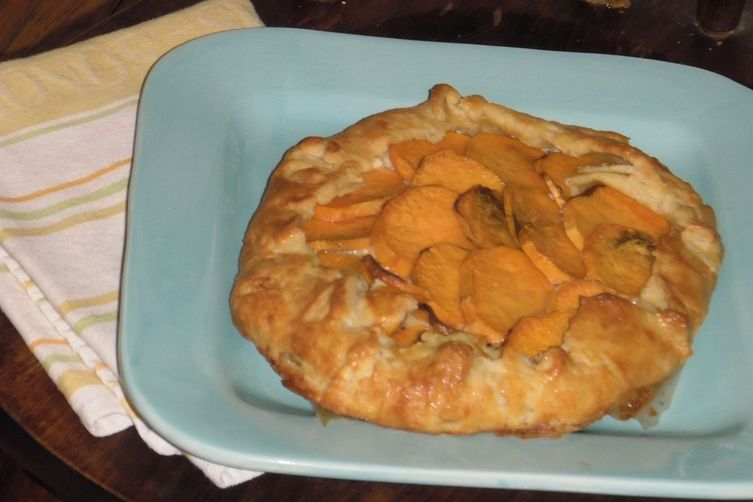Sweet Potato and Ricotta Galette