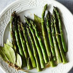 Dinner Tonight: Crispy-Skinned Fish + Braised Asparagus