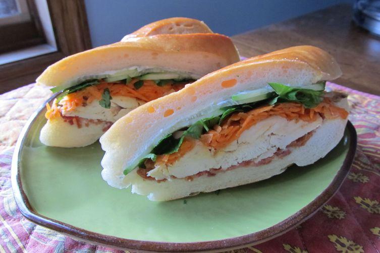 Bánh Mì-Style Turkey Sandwich
