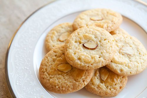 Chinese Almond Cookies by Simply Recipes