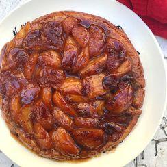 Chai-Spiced Tarte Tatin