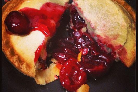 Cherry Vanilla Rum Hand Pies