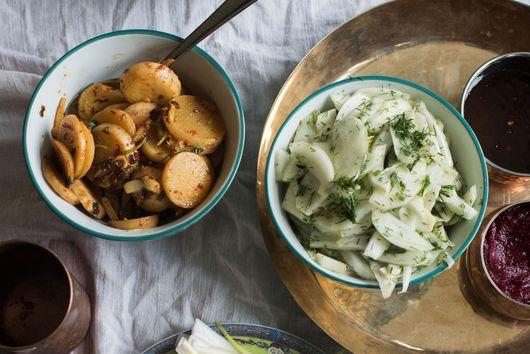 Romy Gill's Spicy Turnips