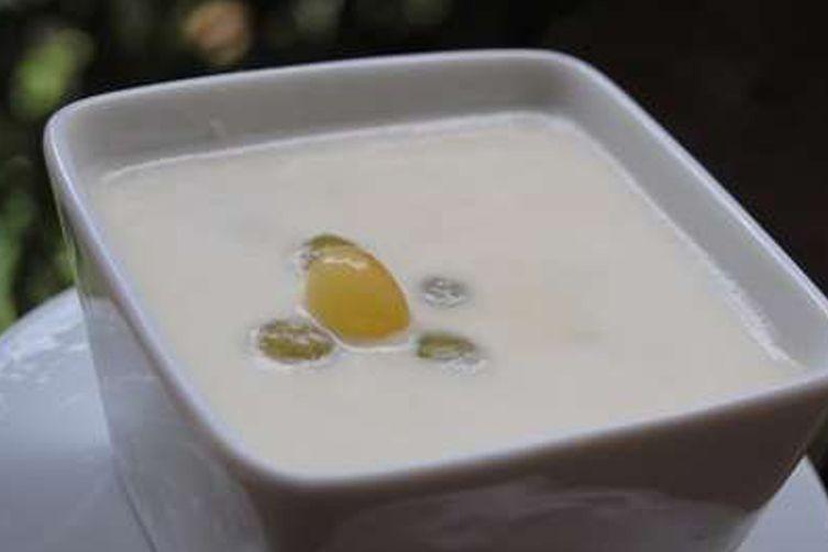 Ajo Blanco - White Gazpacho with Garlic and Almonds