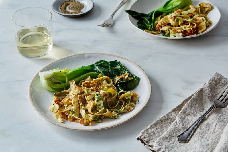 Scallion Egg Noodles