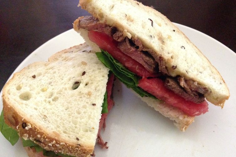 Watermelon Steak Sammy