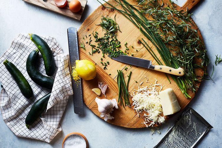 Blackberry Farm's Zucchini Caesar Salad with Cheese Crisps