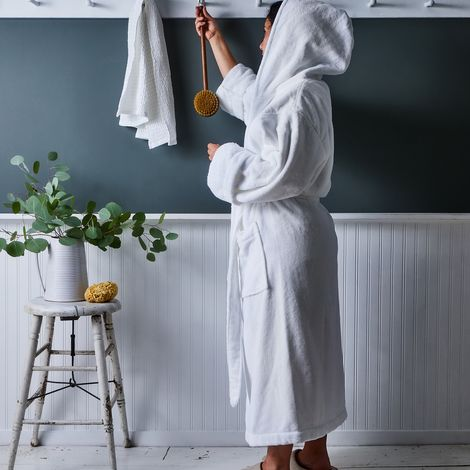 Sferra Hooded Cotton Robe