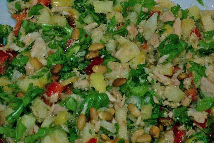 Crunchy Tuna Salad with Apples
