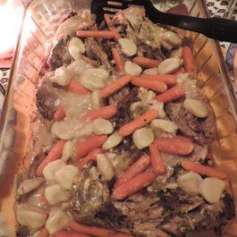 Next Day Turkey & Dumplings Bake
