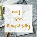 30 Days of Thoughtful Giving
