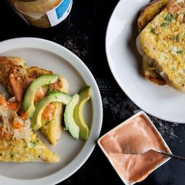 Savory French Toast with Kimchi