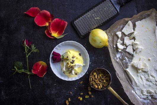Bastani/Persian Saffron Ice Cream