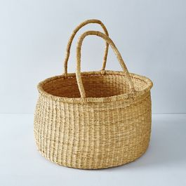 Large Woven Storage Basket