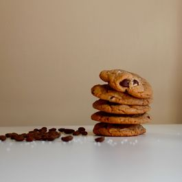 Slightly Salted Chocolate Chip Cookies