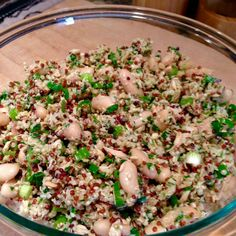 Italian Tuna, Quinoa and White Bean Salad