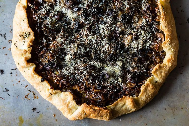 Mushroom Tart on Food52