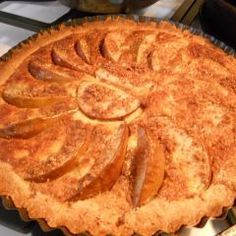 New England Pear Harvest Pie