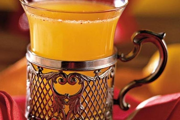 Apricot-Apple Cider Punch