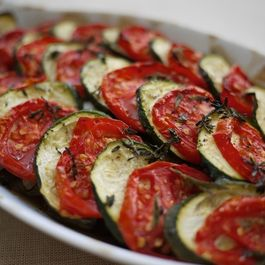 Rustic Provencal Vegetable Casserole