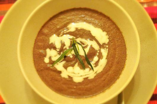 Gourmet Mushroom and Tarragon Soup