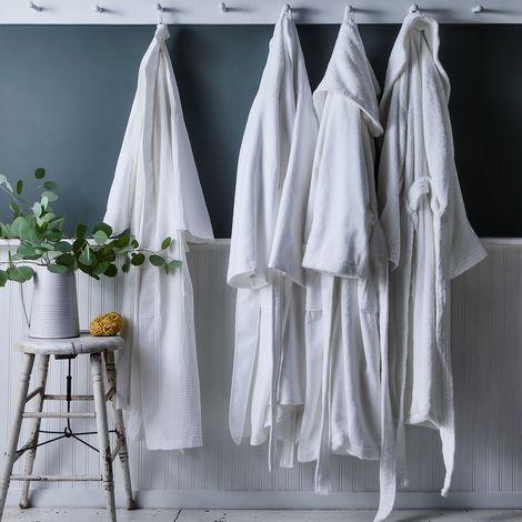 Super Soft Plush Cotton Robe