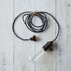 Pendant Lamp with Edison Bulb
