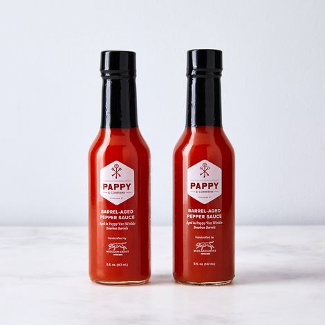 Bourbon Barrel Aged Hot Sauce (Set of 2)