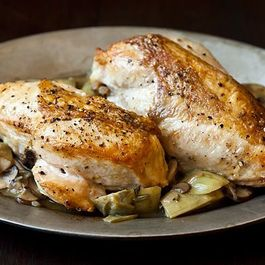 Roasted chicken by http://broccolinibunch.wordpress.com/