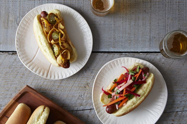 how to cook hot dog without oil