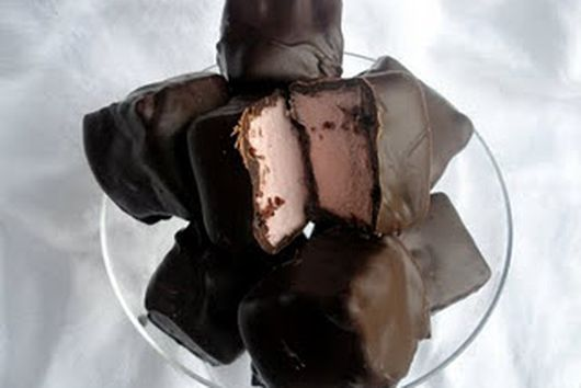 Dark Chocolate Covered Cranberry Marshmallows