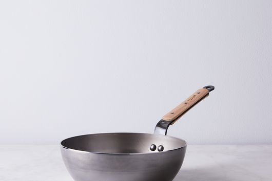 French Mineral B Carbon Steel & Wood Cookware