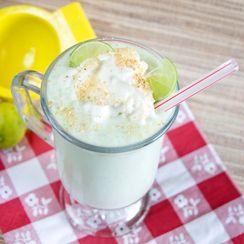 Healthy Key Lime Pie Milkshake