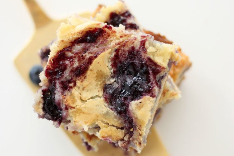 Ooey Gooey Blueberry Butter Bars