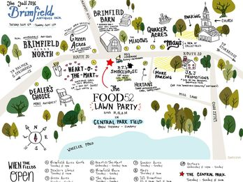 A Better Map of the Brimfield Flea (See You There!)