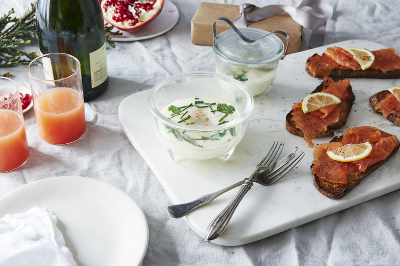 How do you solve breakfast for a crowd? Two words: egg coddlers.