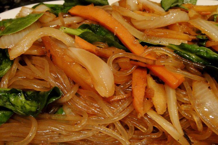 Chop Chae (Sweet Potato Noodle)