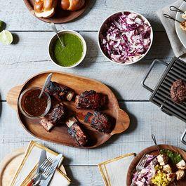 An Upscale Backyard Barbecue